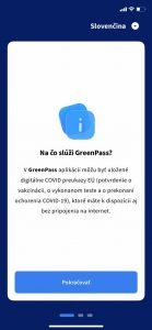 Na čo slúži GreenPass?
