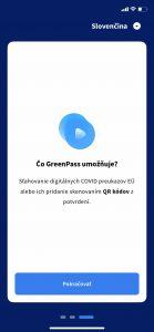 Čo GreenPass umožňuje?