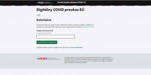 Digitálny COVID preukaz EÚ