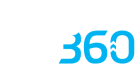 best360 logo white